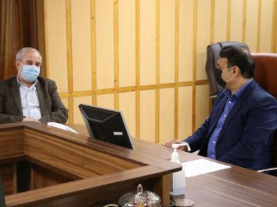 دیدار نوروزی نماینده مردم رشت در مجلس شورای اسلامی با فرماندار