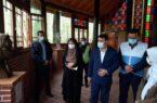بازدید فرماندار رشت از موزه میراث روستایی گیلان واقع در سراوان