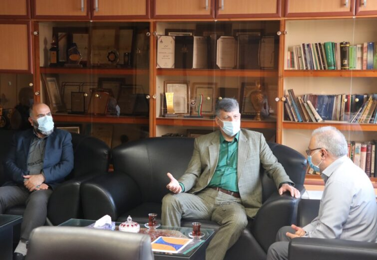 دیدار نماینده مردم رودبار در مجلس با مدیرعامل شرکت گاز استان گیلان